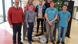 Elektromotor eines BMW i3 für die Hans-Glas-Schule