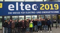 Elektroniker auf der Eltec