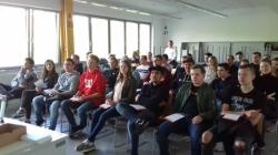Unterrichtsgang zum ToolTruck der Hoffmann Group