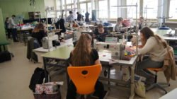 """Projekt """"Hemd/Bluse"""" der Klasse Bekleidung 11"""