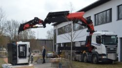 Erweiterung des Maschinenparks